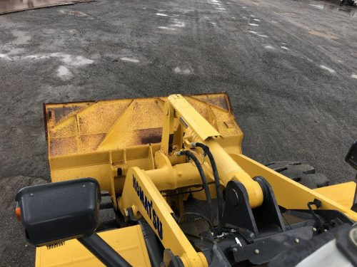 2016 Komatsu WA380-7 Wheel Loader View From Top of Chassis