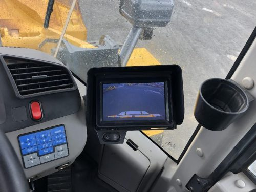 2016 Komatsu WA380-7 Wheel Loader Rear View Camera