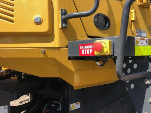 2016 Komatsu WA380-7 Wheel Loader Emergency Stop Button