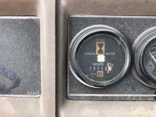 1988 Caterpillar 657E Motor Scraper Service Meter Gauge Close Up