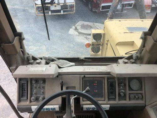 1988 Caterpillar 657E Motor Scraper Cab Interior