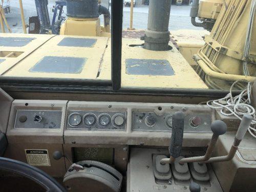 1988 Caterpillar 657E Motor Scraper Cab